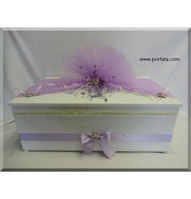 Dream in Lavender Treasure Christening Baptism Box