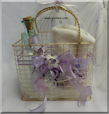 A Lovely Basket for the Christening Accessories