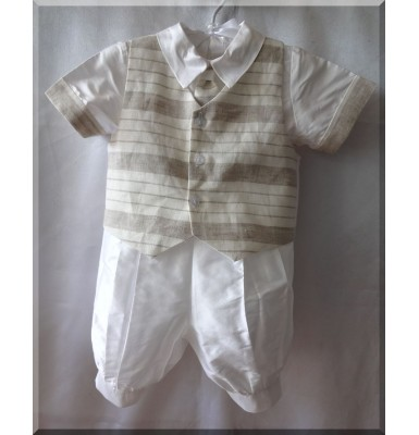 Apollo Christening Baptism Outfit