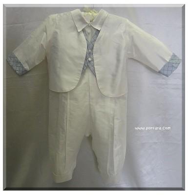 Jacob Silk Baptism Christening Outfit