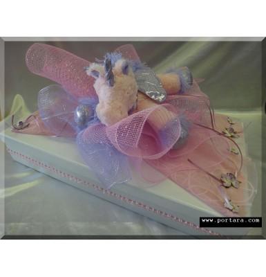 Adorable Unicorn Beauty Keepsake Baptism Memory Box